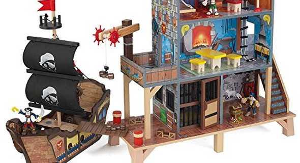 ZZ63284 KidKraft Pirate's Cove Play Set 007