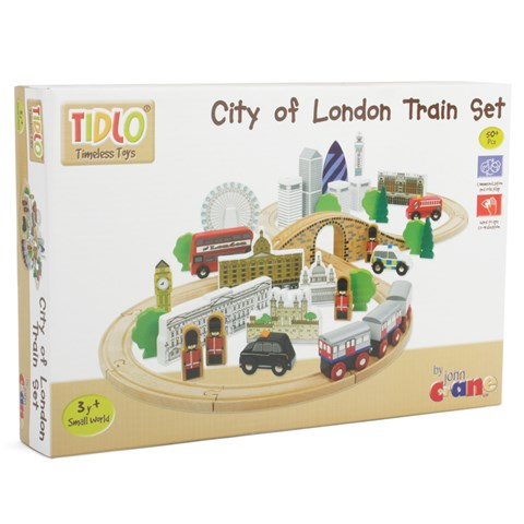 T-0099 Tidlo City of London Train Set 002