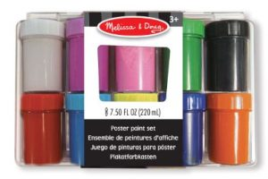 MD14123 Melissa and Doug Poster Paint Set 002
