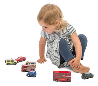 TV267 London Car Set by Le Toy Van 002