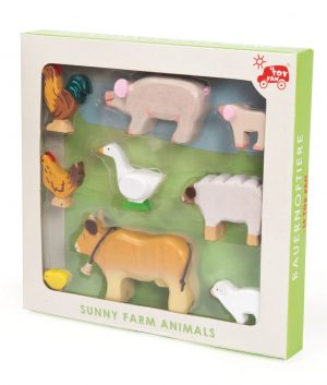 Sunny Farm Animals by Le Toy Van