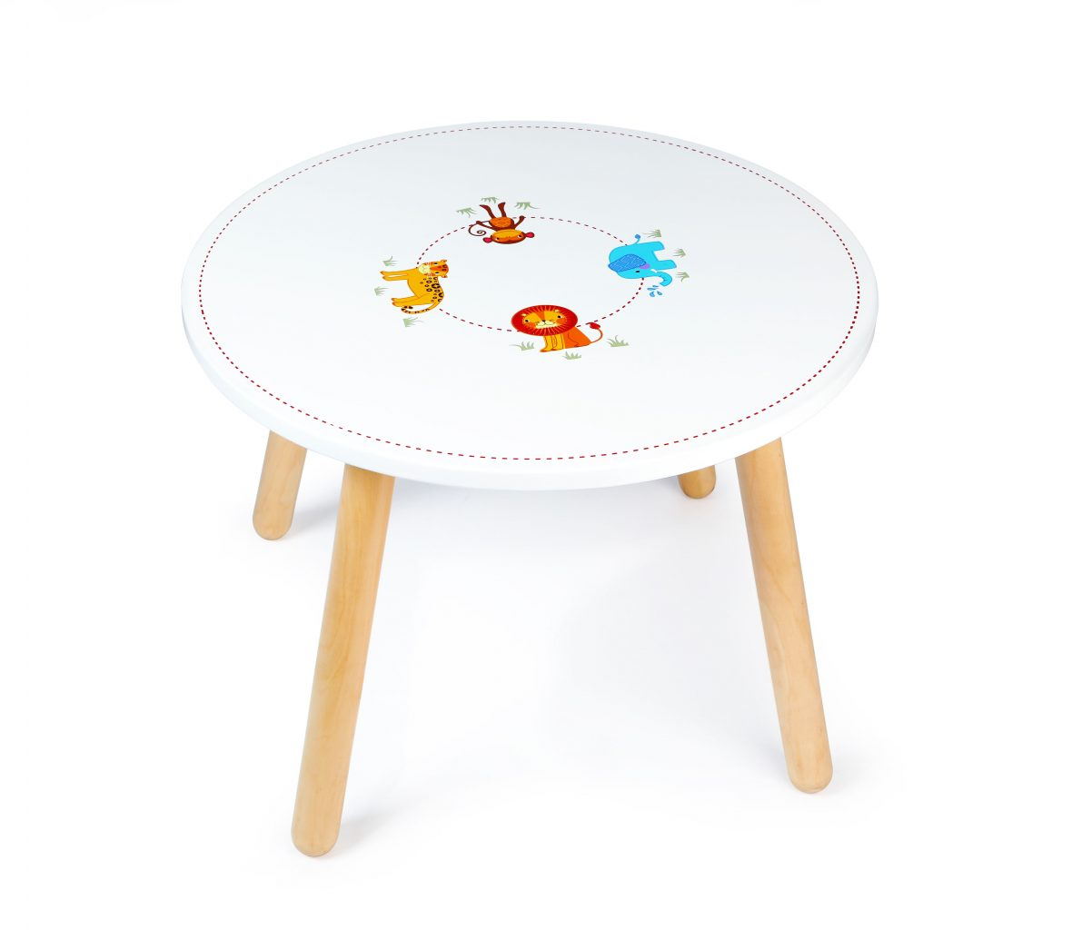 Jungle Animal Table