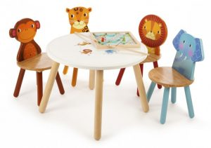 JTCSet Jungle Animals Table & Chair Set 001