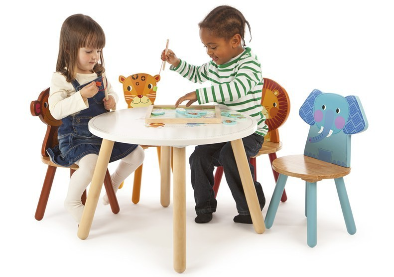 JTCSet Jungle Animals Table & Chair Set 002