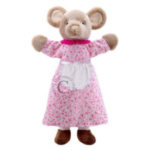 Dressed Mouse Hand Puppet