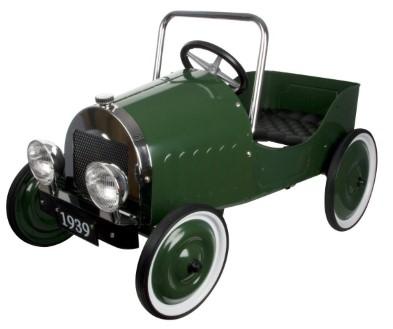 14073 1939 Green Pedal Car Classic 002
