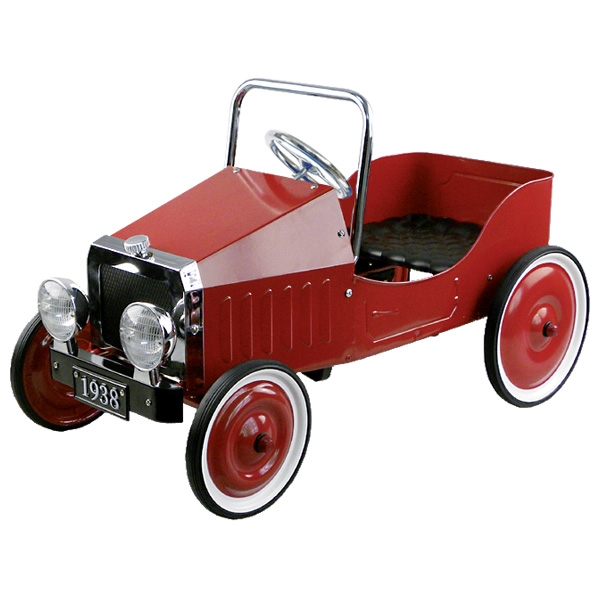 14062 1938 Classic Red Pedal Car 002