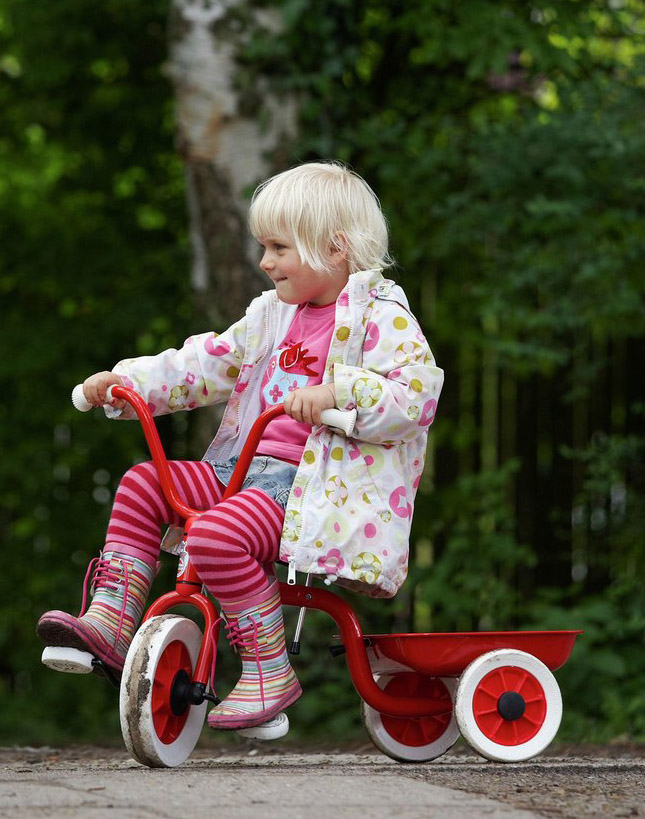 ZZ40500 Classic Red Tricycle  003