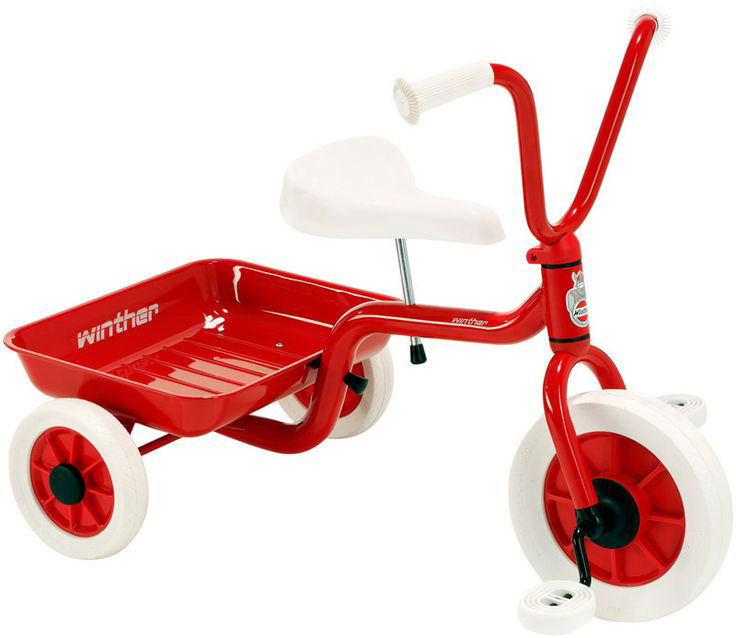 ZZ40500 Classic Red Tricycle  004