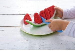Haba Biofino Fabric Watermelon