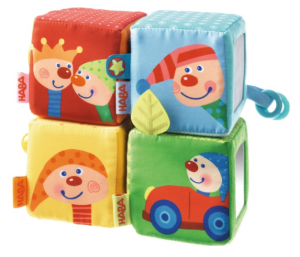 Fabric Piling Cubes Charlie Punch From Haba