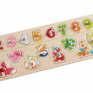 Haba Clutching Puzzle Animals By Number