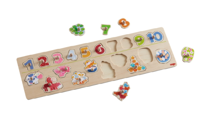 301961Haba Clutching Puzzle Animals By Number 002