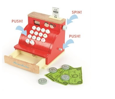 TV295 Le Toy Van Cash Register