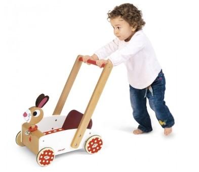 J05997 Janod Crazy Rabbit Cart  002