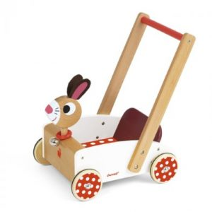 Janod Crazy Rabbit Cart