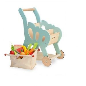 Shopping Trolley (with detachable fabric bag) by Le Toy Van
