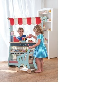TV316  Shopping Trolley (with detachable fabric bag) by Le Toy Van 003