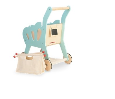 TV316  Shopping Trolley (with detachable fabric bag) by Le Toy Van 004