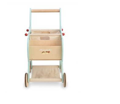 TV316  Shopping Trolley (with detachable fabric bag) by Le Toy Van 005