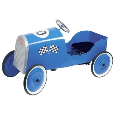 Goki Classic Blue Pedal Race Car
