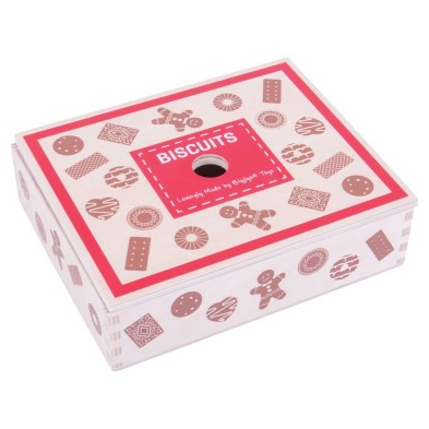 BJ470 Wooden Box of Biscuits 004
