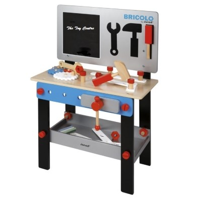 J06491 Janod Magnetic DIY Wooden Workbench 001