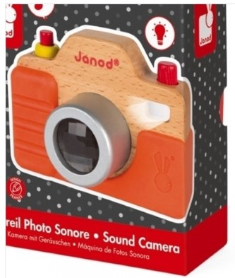 Janod sound camera box