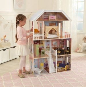 Savannah Dollhouse w/ 14 pc furniture