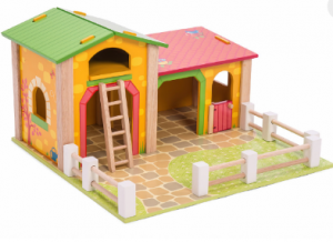 TV411 Le Toy Van Le Barnyard wooden playset 001