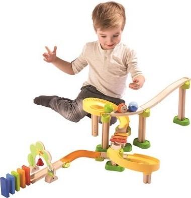 Kullerbue Kids Wooden Ramp In Action
