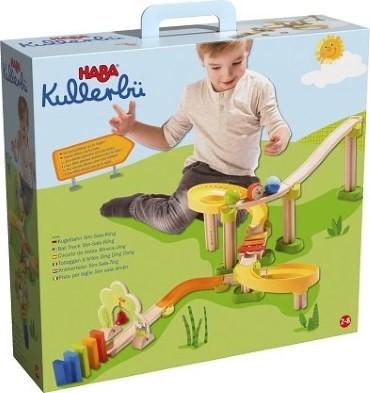 Kullerbrue Wooden Ramp Kids Toy Box