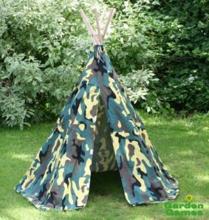Camouflage Wigwam Teepee