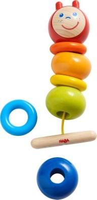 haba threading caterpillar game 305227