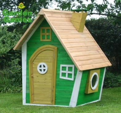 whacky ranch wooden playhouse by garden games