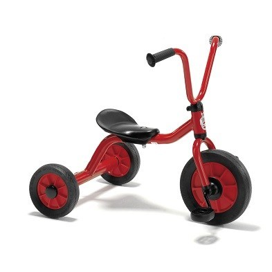 red tricycle low seat