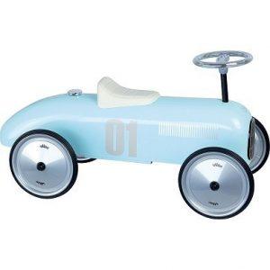 vilac classic blue ride on car