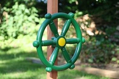 sand sailer sandpit by garden games steering wheel
