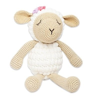 banbe crochet toy sheep by imajo