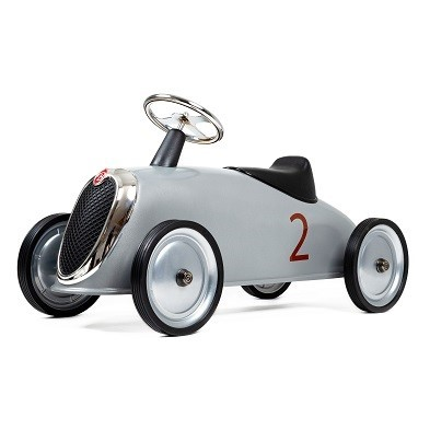 white toy racing car