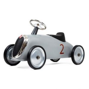Baghera Rider Silver Ride on Car – Large