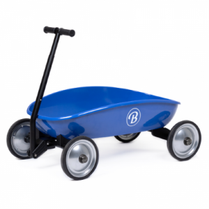 Blue pull along cart by Baghera