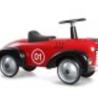 baghera speedster red ride on car