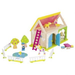 Susibelle My Farm Wooden Playset With Animals