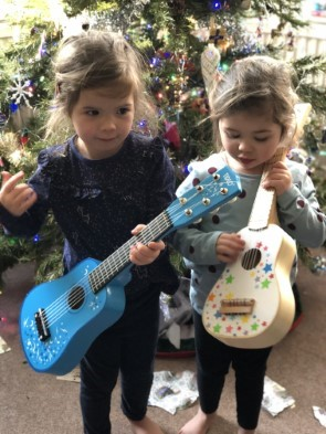 Toy Guitar Makes A Star
