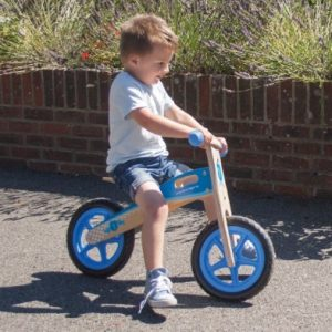 Bigjigs My First Bike – Blue Balance Bike