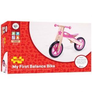 Bigjigs My First Bike – Pink Balance Bike