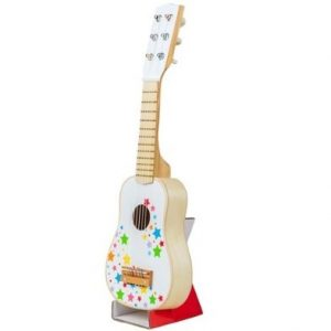 WHite Wooden Guitar by bigjigs