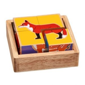Countryside Animals Wooden Block Puzzle