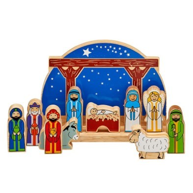 junior starry night nativity set by lanka kade